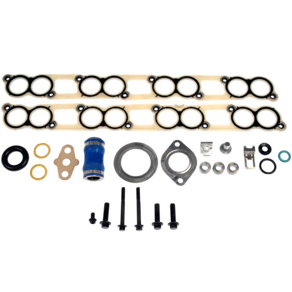 EGR Oil Cooler Kit Rings And Gaskets For 4C3Z 9P456-AA