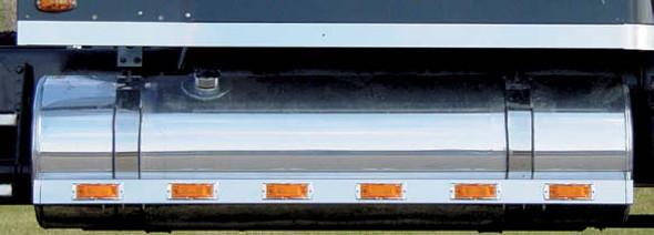 """Freightliner 58.5"""" Fuel Tank Fairings Blank By RoadWorks"""