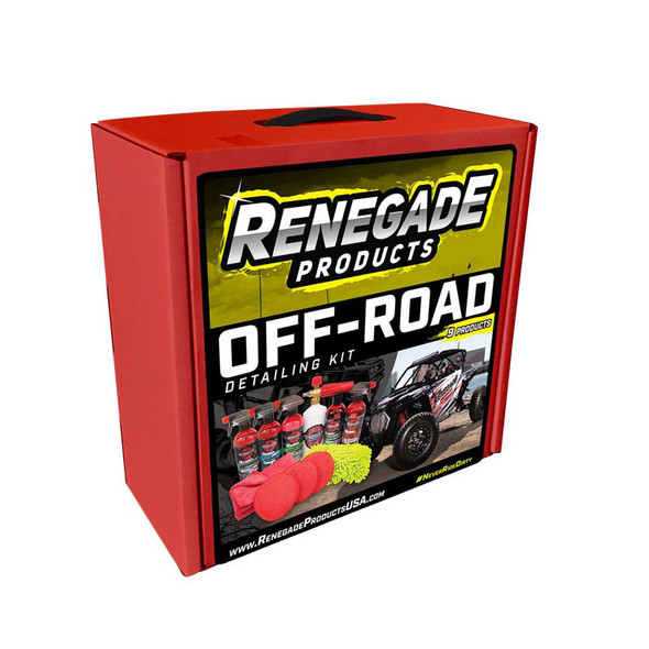 Off-Road Detailing Kit Boxed