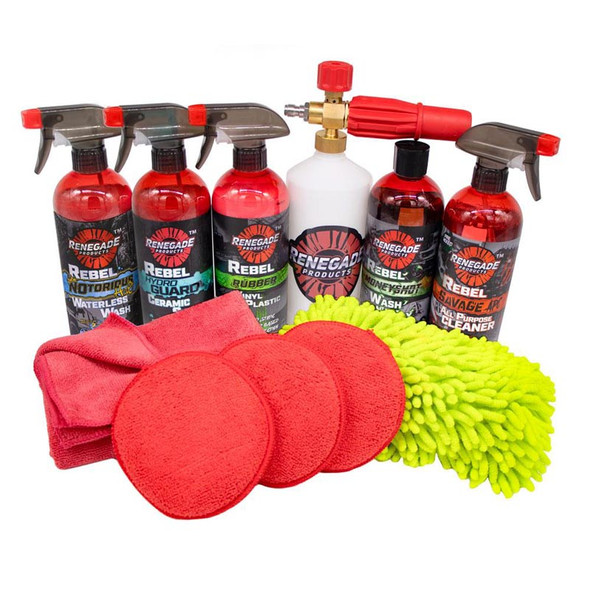 Off-Road Detailing Kit Contents