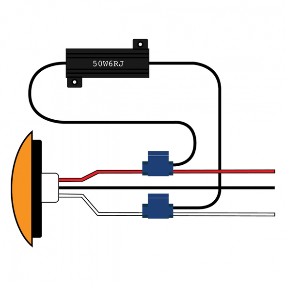 LED Competition Series Load Resistor Kit Shown