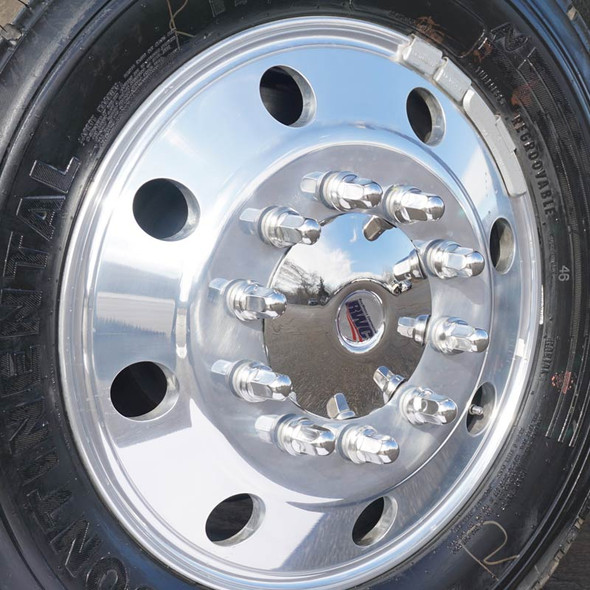 """19.5"""" Ford Stainless Steel Trim Kit Moon"""