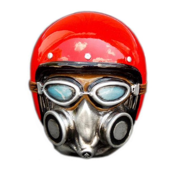Gasser Man Shift Knob Kit Red