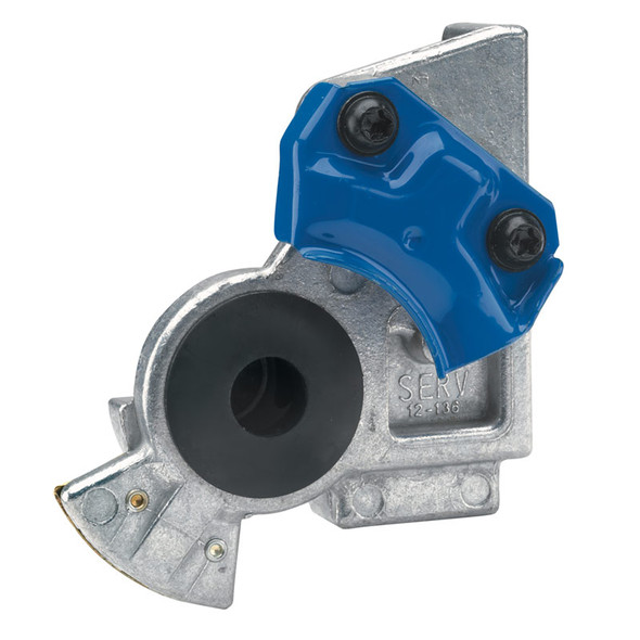 Angle Mount Gladhand - Blue/Service