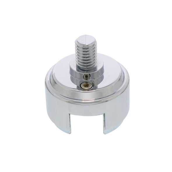 Chrome 1/2-13 Gearshift Mounting Adaptor Eaton Filler Style