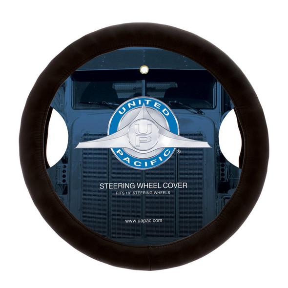 """Premium 18"""" Comfort Grip Steering Wheel Cover  Brown"""