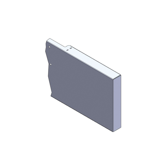 Peterbilt 567 Standard SFA Boxed End Bumper-Box End