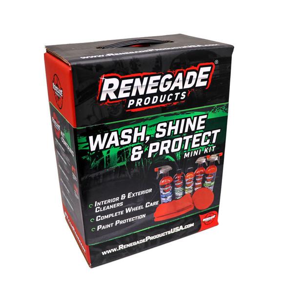 Renegade Wash Shine And Protect Mini Kit Box