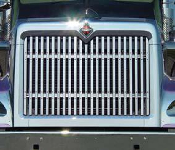 International 9900i ix 5900i Grill With 23 Vertical Bars By RoadWorks