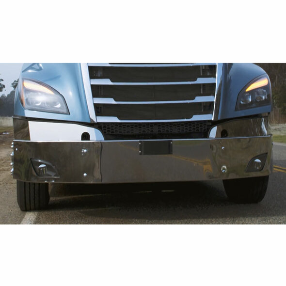 Freightliner Cascadia 2018 Chrome Bumper By Valley Chrome