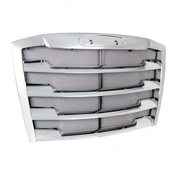 Freightliner Cascadia Chrome Grill 2018 & Newer A17-20832-006 Front Side View