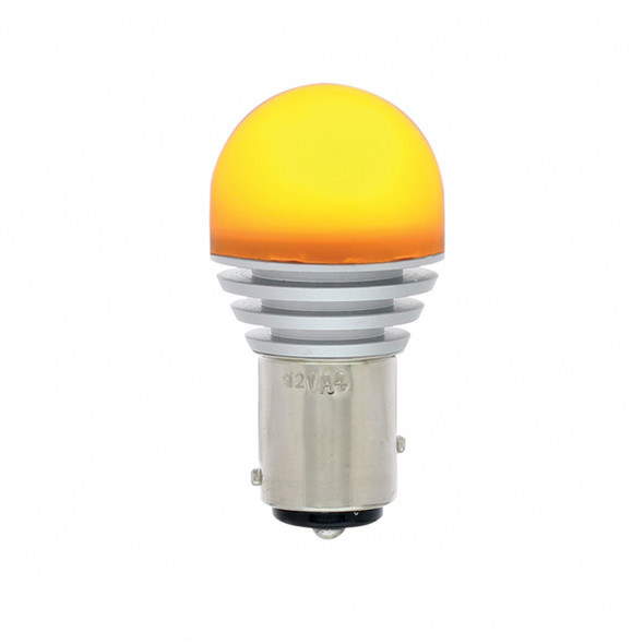 High Power 1157 LED Dual Function Bulb Amber Upright