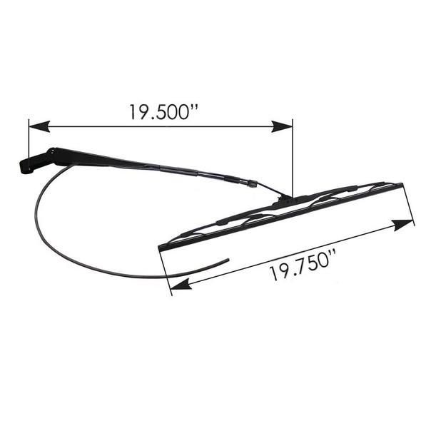 Peterbilt Windshield Wiper Arm Dimensions