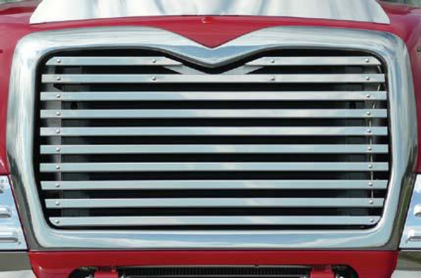 Mack CV713 Replacement Grill With 10 Horizontal Bars By RoadWorks