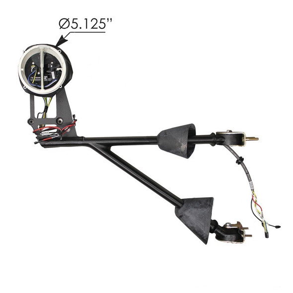 Kenworth Mirror Arm With Motor Diameter