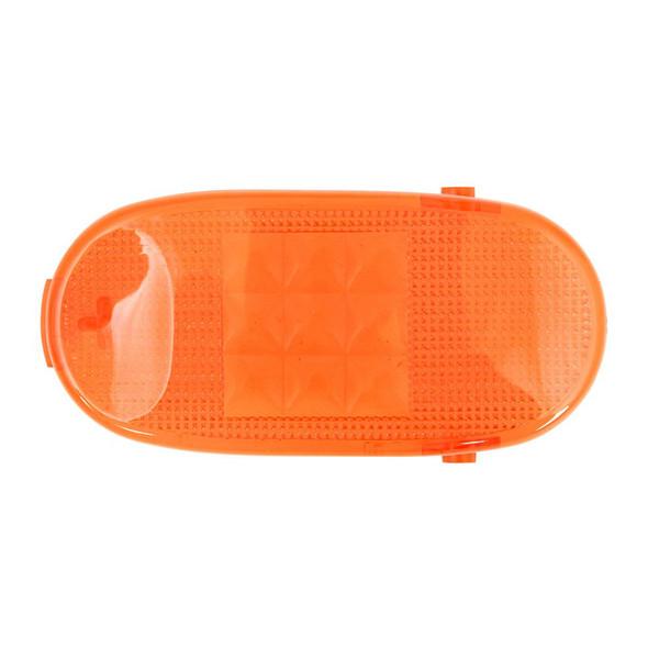 Freightliner Columbia Rectangular Dome Light Lens Orange
