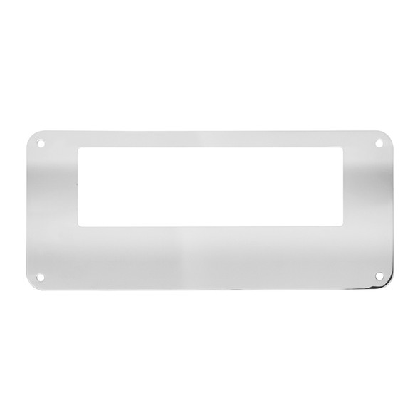 Freightliner Stainless Steel CB Radio Face Plate By Grand General