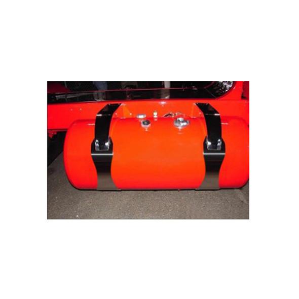 Peterbilt 359 379 389 Fuel Tank Straps Swoop Style