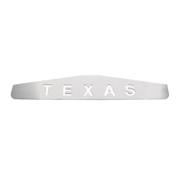 Texas Chrome Bottom Mud Flap Weight