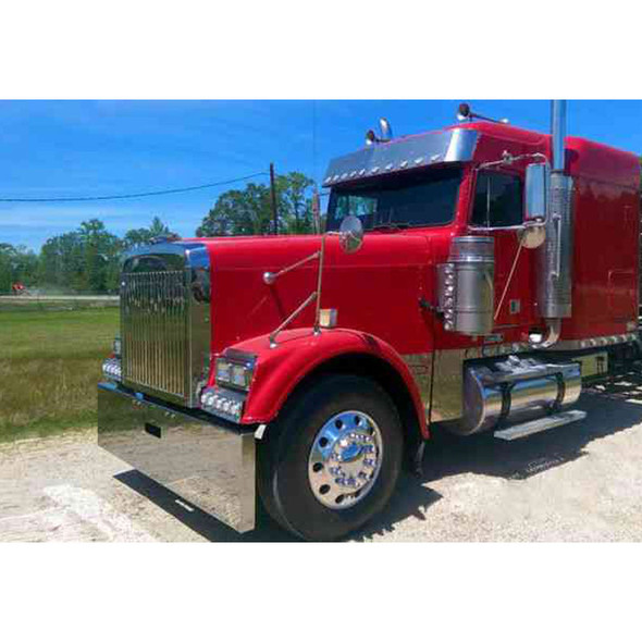 Freightliner Classic & Cabover Boxed End Bumper