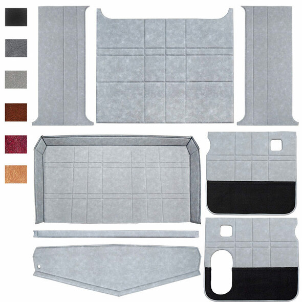 Peterbilt 359 379 Budget Model Interior Kit Light Grey