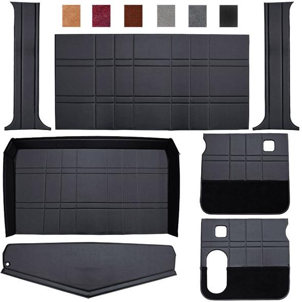 Peterbilt 359 379 Budget Model Interior Kit Black