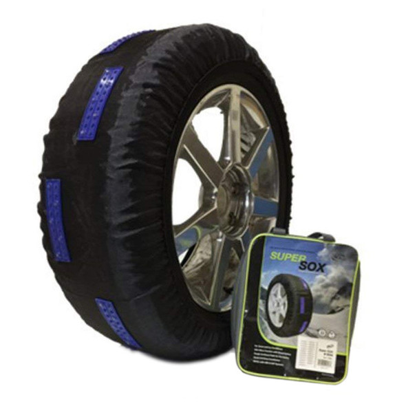 SuperSox Advanced Traction Snow Socks For Light Duty Vehicles