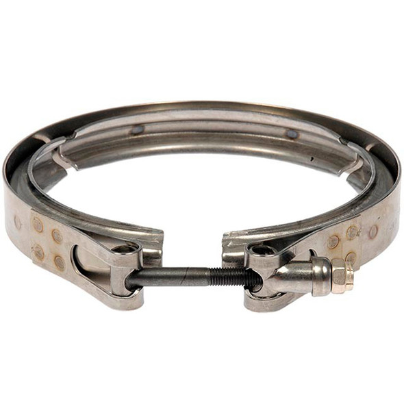 Mack Volvo Diesel Particulate Filter Clamps Front