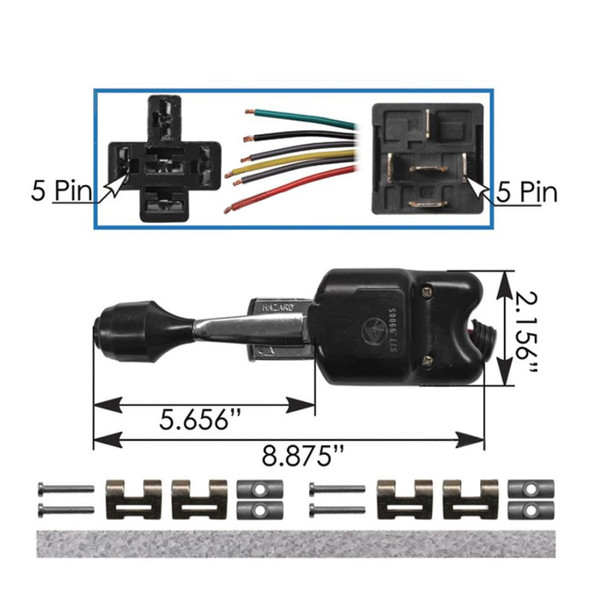 Universal Turn Signal Switch Dimensions