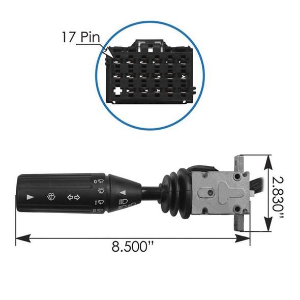 Kenworth Turn Signal Multifunction Switch Dimensions