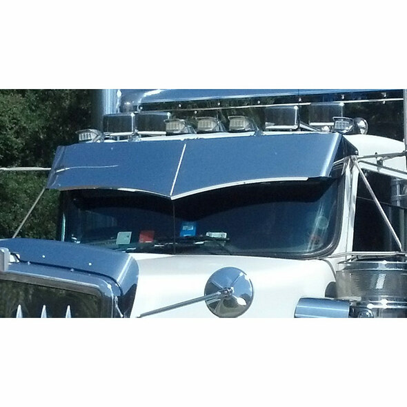 Kenworth Wicked Visor On Truck