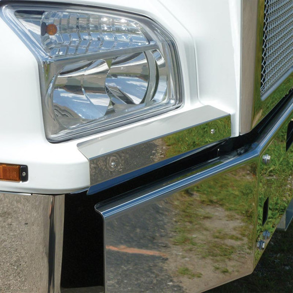 Stainless Steel Fender Guards Kenworth T880 2014 On Truck