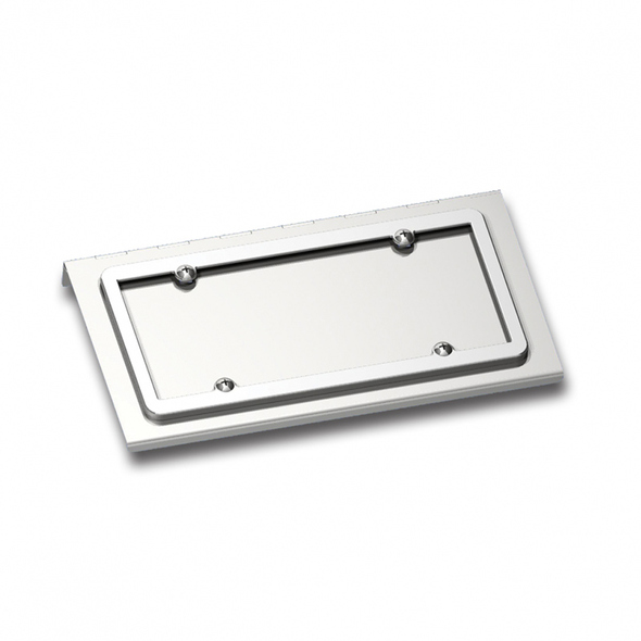 Stainless Steel License Plate Holder Kenworth
