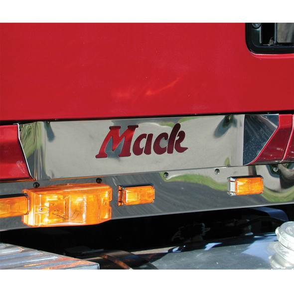 Mack CH CL Stainless Steel Upper Scuff Panel On Truck