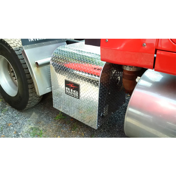 Auxiliary Power Unit T4 Generator On Truck - Close Up