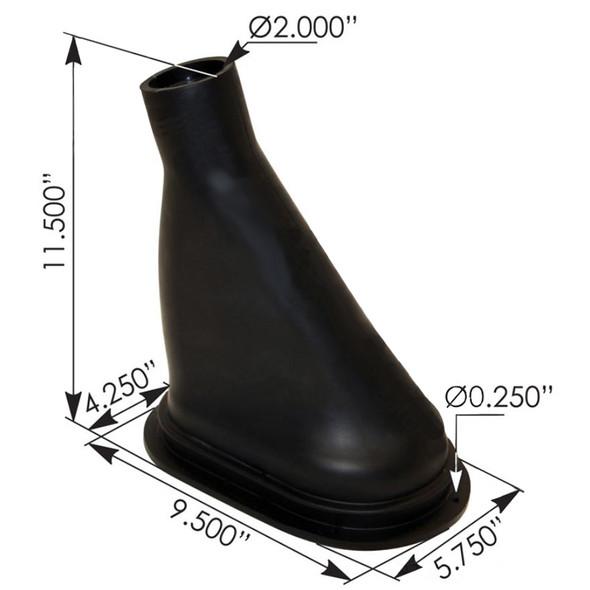 Mack Shift Boot Dimensions