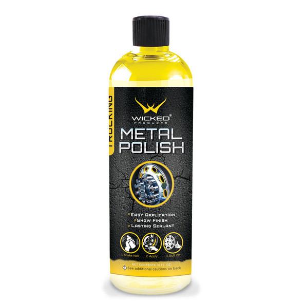 Metal Polish Bottle 16oz.