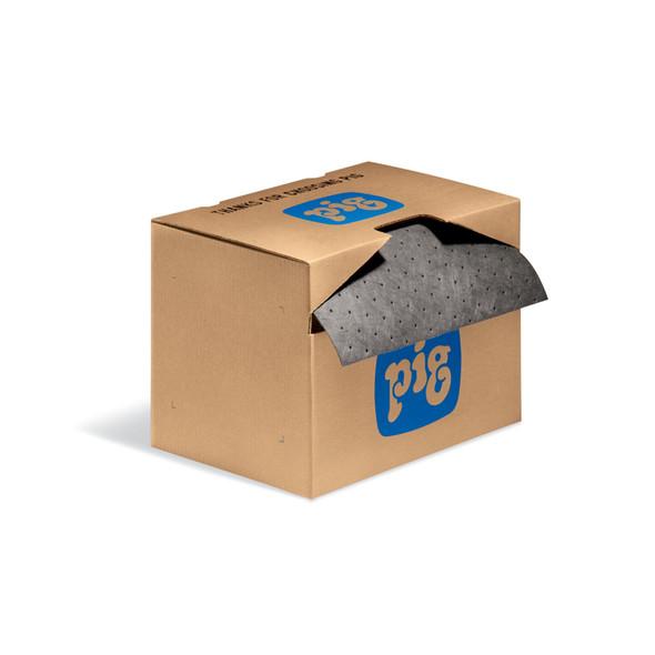 """PIG Absorbent Mat Roll in Dispenser Box 15"""" x 75"""""""