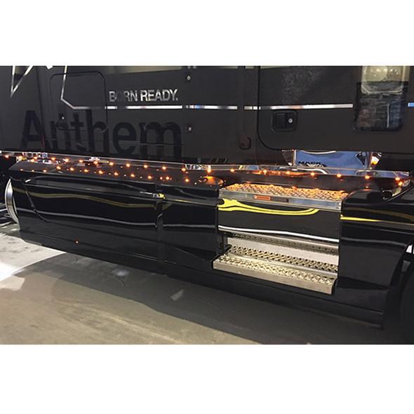 Mack Anthem Skirting Kit On Truck Lit Up