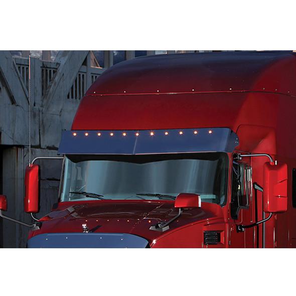 Mack Anthem Sunvisor On Truck