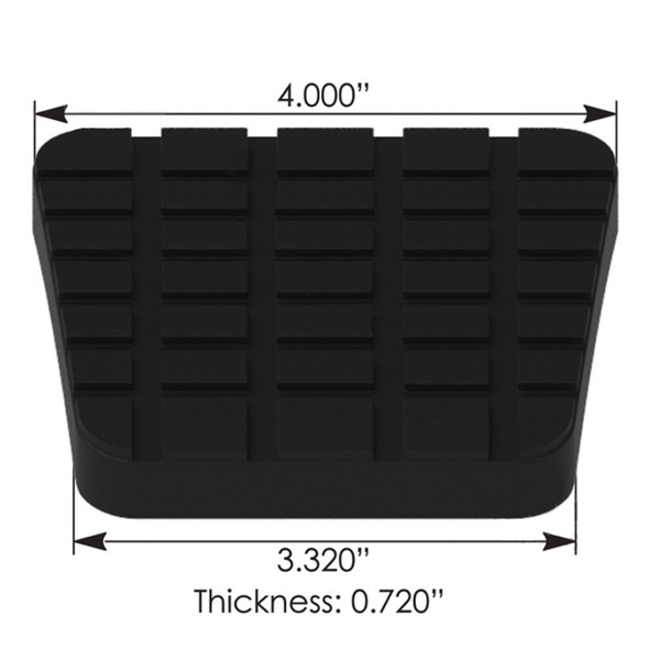 Freightliner Pedal Pad 212306000
