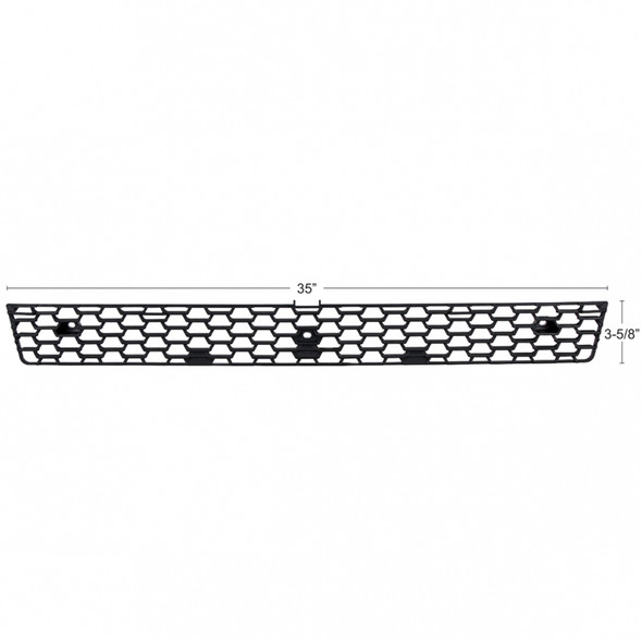 Freightliner Cascadia Lower Grille - Dimensions