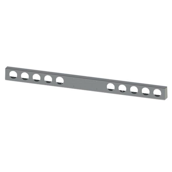"Universal 96"" 304 SS Light Bar with 10 Light Holes"