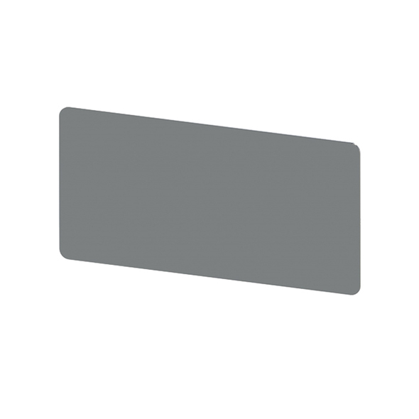 """Stainless Steel Tape Mount Flat Permit Panel - 4"""" x 8"""""""