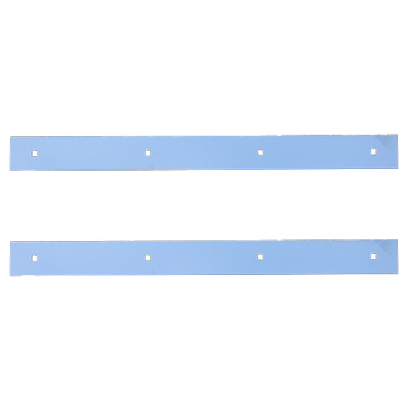 Stainless Steel Mud Flap Top Plate Accent - Standard