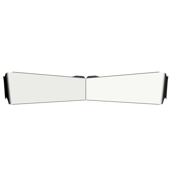 Kenworth Bowtie Visor For Flat Or Curved Windshields