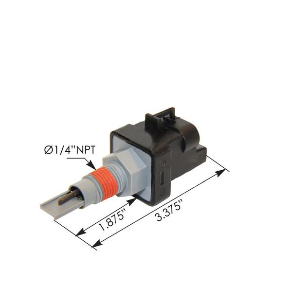 Engine Coolant Level Sensor Dimensions