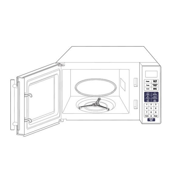 Tundra MW Series Truck Microwave Sketch