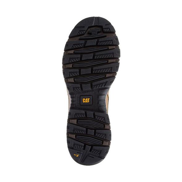 Mens Device Waterproof Composite Toe Tough Trucker CAT Work Boots Bottom