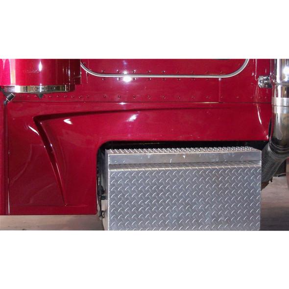 "Peterbilt 379 Fiberglass  8"" Cab And Cowl Panels With Scoop"